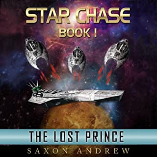 Star Chase - The Lost Prince audiobook cover art