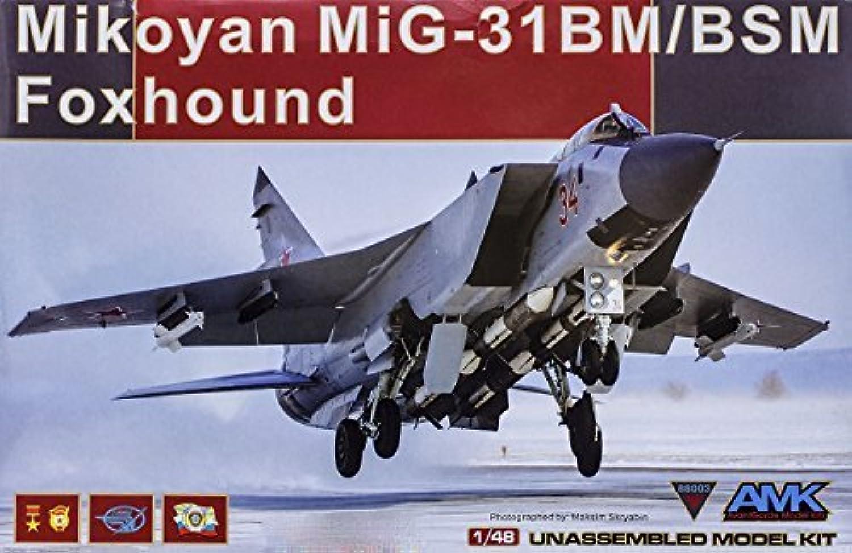 AMK AvantGarde Model Kits 1 48 MiG-31BM Foxhound  88003 by AMK AvantGarde Model Kits