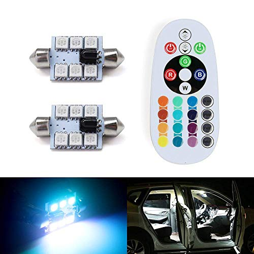 SHINFOK 2pcs White Yellow Super Bright Car LED DRL Daytime Running light Flowing Runs Style Flexible LED Light DRL Turning Switchback Headlight 12led 37cm, White and Yellow