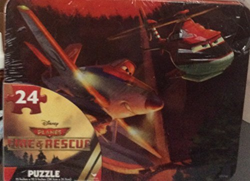 Disney Planes Firs & Rescue Puzzle in Tin by Disney