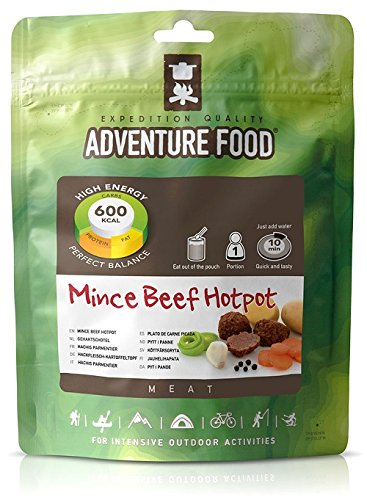 Trekmates Adventure Food 1 Person Camping/Trekking Main Meals - Mince Beef Hotpot