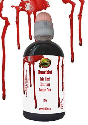 Kunstblut 100ml Halloween hautfarben Latex fakeblood Make up Blut Horror Schminke