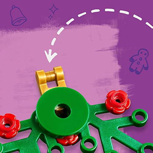 LEGO 41382 Friends Advent Calendar 2019 Christmas Decorations Set, Buildable Tree Ornaments