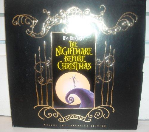 Tim Burton's The Nightmare Before Christmas Deluxe CAV Laserdisc Edition