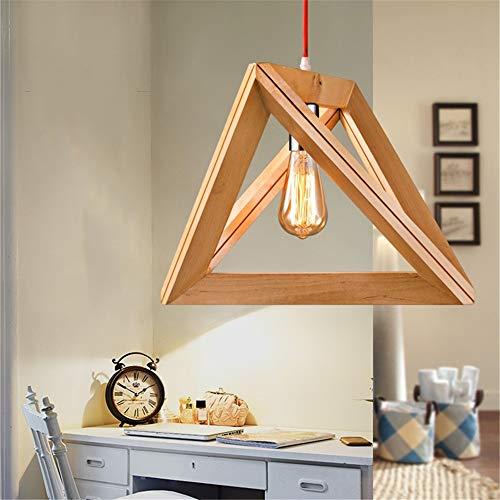 QuRong hanglamp creatieve decoratieve keukenlampen-ijzer-soort van de lampenlicht van de driehoekdiamant, de moderne industriële lamp verlicht voor het studien-restaurant