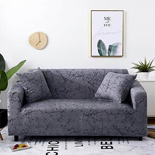 WXQY Fundas elásticas con Tiras Cruzadas Fundas elásticas Totalmente envolventes Funda de sofá Antipolvo Funda de sofá Funda de sillón Toalla de sofá A30 3 plazas