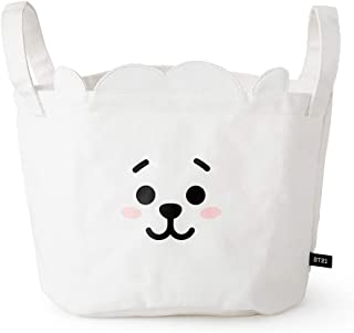 BT21 Official Merchandise by Line Friends - RJ Character Storage Bag, White