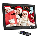 Andoer 10 inch Digital Photo Picture Frame LED Wide Screen Electronic Album High...