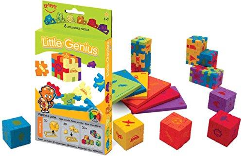 Puzzle 3D de 6 Piezas