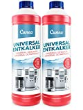 Cunea Premium Détartrant 2x 750 ml pour machine à café automatique et machine à café