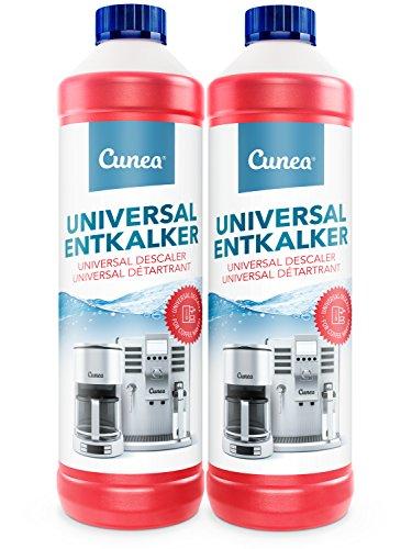 Entkalker & Kalklöser für Kaffemaschine Kaffeevollautomat Kaffeepadmaschine - 2x 750ml universell einsetzbarer