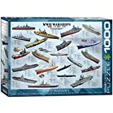 EuroGraphics WWII War Ships 1000 Piece Puzzle
