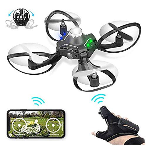 RBTT Luftbildfotografie Gestenerkennung Drohnenfernbedienung 360-Grad-Flip Stunt-Rutschen Smart Kinderspielzeug Vier-Achsen-Flugzeuge Künstliche Intelligenz Watch Sensor Aircraft