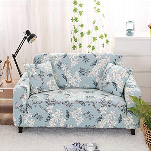 ASPZQ Sólido de Color Antideslizante Combinación elástico con Todo Incluido, Universal sofá de Cuero Cubierta, Cubierta de Polvo Tela Europea,S,145 to 185cm