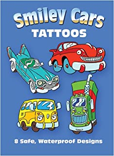 Smiley Cars Tattoos