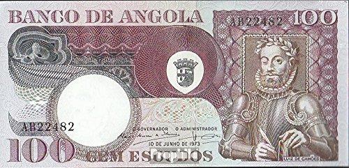 Angola Pick-No.: 106 1973 100 Escudos (Banconote )