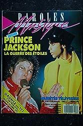 Paroles & Musique 1988 06 n° 8 PRINCE JACKSON Pierre DESPROGES NIAGARA JEAN FERRAT NINO FERRER