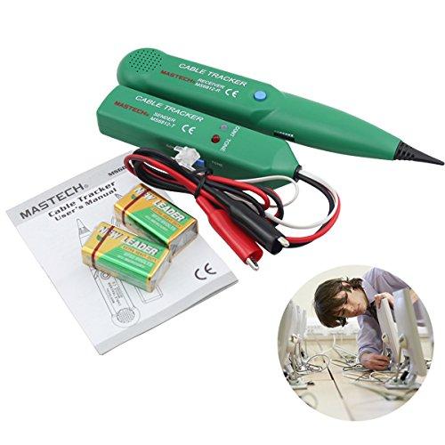 Netzwerk Kabeltester Leitungsdetektor Professionell Netzwerk Werkzeug für Netzwerk Wartung Collation Telefonleitungstest Durchgangsprüfung Schwache Batterieanzeige