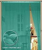 Fadenvorhang 150 cm x 500 cm (BxH) türkis