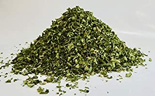 Moringa Oleifera Leaves Tea Cut 5 oz Hand Harvested Organic Green Flash Dried - for Healthy Hair & Skin, Boosts Energy & Immune System. Great for Teas & Soups! Super Food Tea Cut