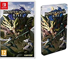 Monster Hunter Rise (Nintendo Switch) + Steelbook