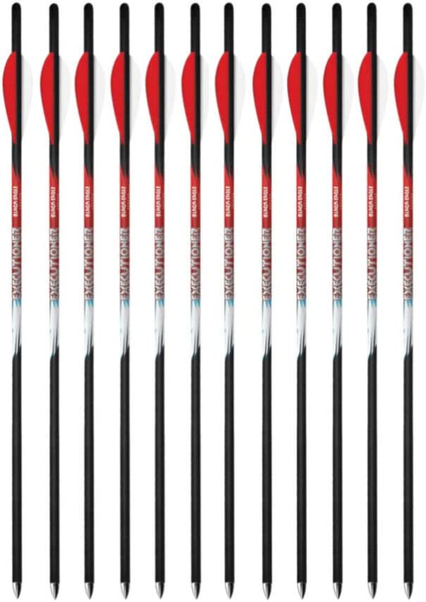 Black Eagle Clearance SALE! Limited time! Cheap sale Executioner Crossbow Carbon Bolts Arrows Fletched