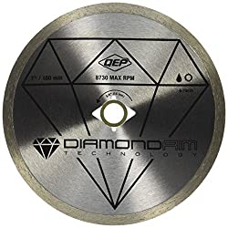 """commercial QEP 6-7001 Q7 Diamond blades with continuous edges for wet tile saw blades for ceramic tiles"""" workforce wet saw"""