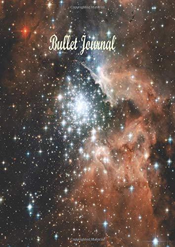Bullet Journal A4: Carnet de note pointillé A4 ; Cahier pour Bullet Journal ; 100 Pages Papier Pointillé ; Dotted Notebook A4 ; Dotted Bullet Journal ; Bullet Journaling (Cahier Personnalisable A4)