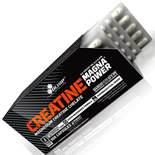 CREATINE Magna Power - Anabolic Creatine Enriched with Magnesium - Bodybuilding Pills for Muscle Mass Growth | Blisters - No Box (60 Capsules)