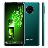 OUKITEL C19 - Smartphone de 6,49 pulgadas (16 GB Rom + 2 GB RAM Quad Core 4000 mAh, batería Android 10 Facial ID Dual SIM, color verde