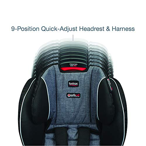 Image of Britax Frontier ClickTight Harness-2-Booster Car Seat - 2 Layer Impact Protection - 25 to 120 Pounds, Vibe