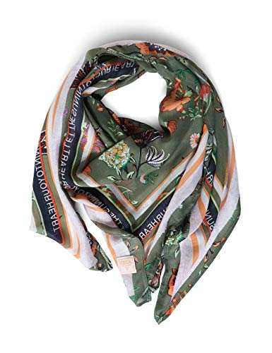 Cecil Damen Square Mode-Schal, soft khaki, A