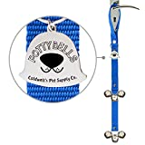 Caldwell's Pet Supply Co. Potty Bells Housetraining Dog Doorbells for Dog Training and Housebreaking Your Doggy. 1.4 Inch Dog Bell with Doggie Doorbell and Potty Training for Puppies (Blue)