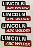 4 Lot OEM Hood Decal 9' Fits Lincoln Arc Welder Sa 200 250 SAE 300 400 Pipeline
