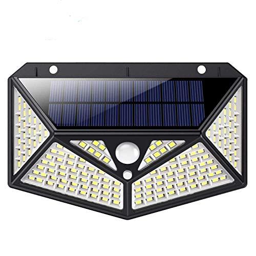 Luz Solar Exterior 150 LED, kilponen [Versión Innovadora 2200mAh] Foco Solar Potente...