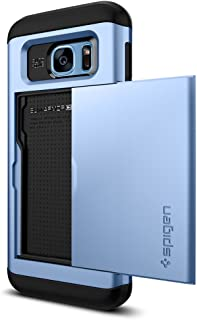 Spigen Slim Armor CS Designed for Samsung Galaxy S7 Edge Case (2016) - Blue Coral