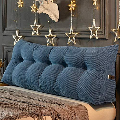 Nacht Kissen, Kopfbrett Sofa Rückenkissen, Polsterkeilkissen Haus Dekoration/J / 180 × 20 × 45 cm