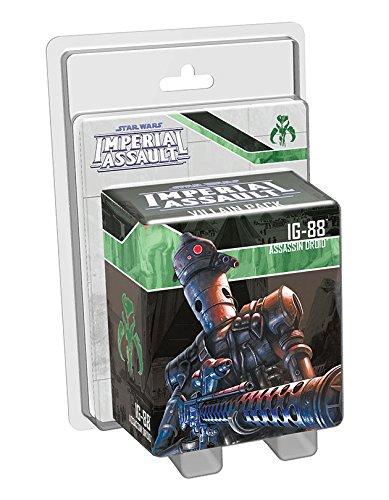 Fantasy Flight Games FFGSWI05 Star Wars: Imperial Assault IG-88 Bösewicht Pack, Mehrfarbig