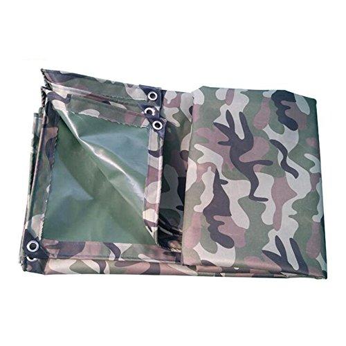 MEIDUO Bâches Camo Tente Tissu Polyester Oxford Tissu Imperméable Imperméable à l'eau Tricycle Tente Poids: 400g / m² 0.5mm pour l'extérieur (Couleur : Noir, Taille : 4 * 4m)