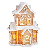 RAZ Imports Kringle Candy Co. 14.5' Gingerbread Lighted House