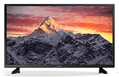 Sharp 1T-C32BB4IE1NB 32 Inch HD Ready LED TV with Freeview HD, 3 x HDMI, Scart, USB Record and Media Player,Black