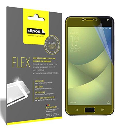dipos I 3X Schutzfolie 100prozent kompatibel mit Asus Zenfone 4 Max 5,2 Zoll ZC520KL Folie (Vollständige Bildschirmabdeckung) Bildschirmschutzfolie