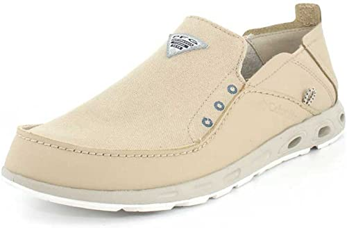 Columbia Mens Bahama Vent PFG Ancient Fossil Whale Slip-On - 12