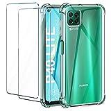 Case for Huawei nova 6 SE, Huawei P40 Lite 4G Case, with [2
