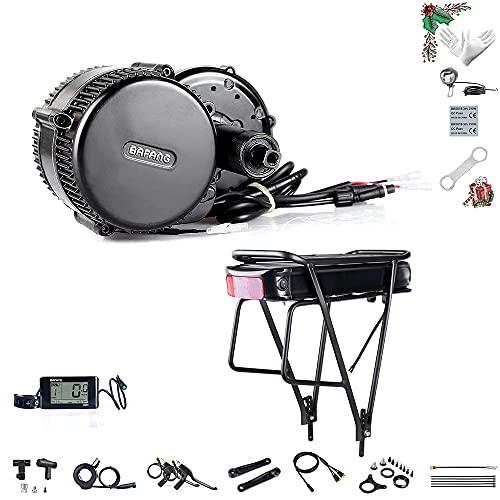 Bafang Kit de Conversion de vélo pour Moteur électrique BBS02B 36V 500W de vélo électrique Kit de Moteur 500W de mi