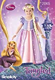 Simplicity 2065 Disney's Tangled Girl's Rapunzel Princess Costume Sewing Pattern, Sizes 3-8