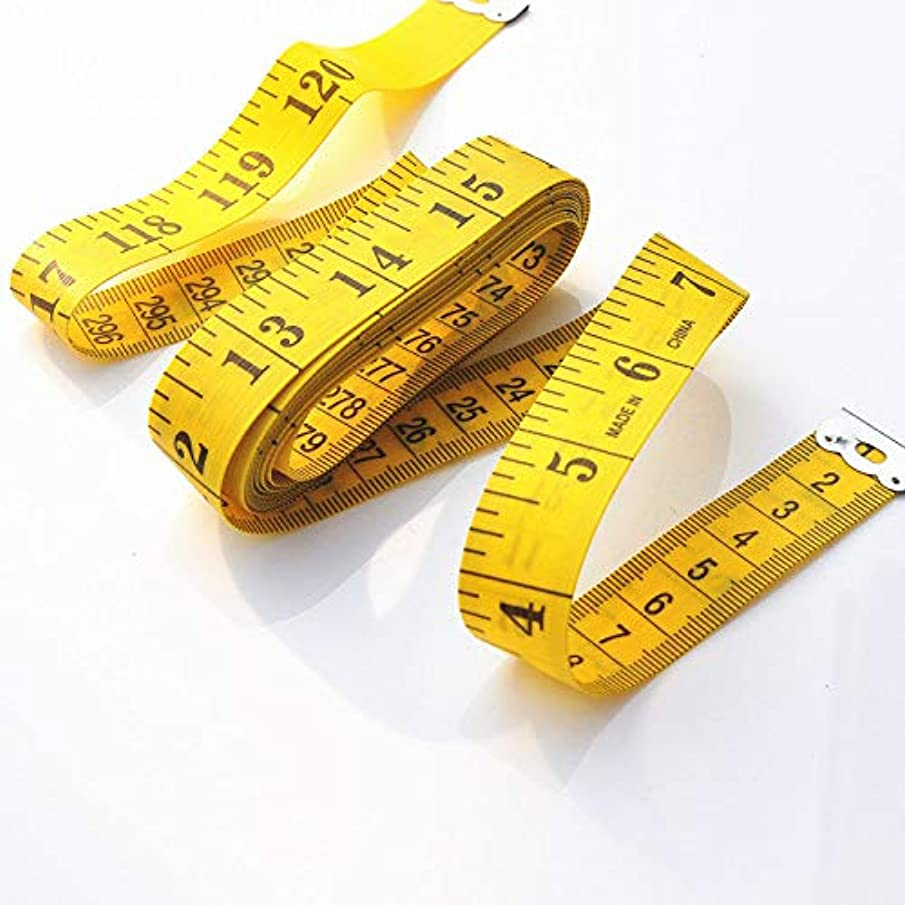 (2 PCS) Soft Measuring Tape for Body Measuring, Body Cloth Measuring, Sewing Tailor Fabric Tape