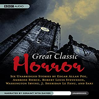 Great Classic Horror audiobook cover art