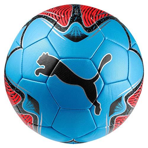 Puma One Star, Pallone da Calcio Unisex-Adulto, Rosso (Red Blast/Blue Azur Black), 5