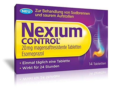 Nexium Control 20 mg Tabletten bei Sodbrennen, 14 St. Tabletten